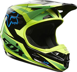 Fox Racing 2014 V1 Race Helmets Motocross Dirt Bike Off-Road MX/ATV/MTBike Adult