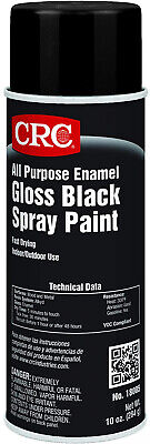 CRC All Purpose Enamel Spray Paint, 10 Oz Aerosol Can, Gloss (10 Ounce Aerosol Cans)