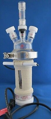 Ace Glass Unjacketed Filter Reactor 150ml With Instatherm Heater 6388-15