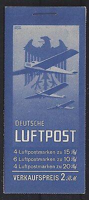 6# DR MH 20.2** Flugpost 1931, Pracht. MI 1400€