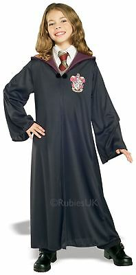 GIRLS HARRY POTTER HOGWARTS GRYFFINDOR ROBE FANCY DRESS - Gryffindor Outfit