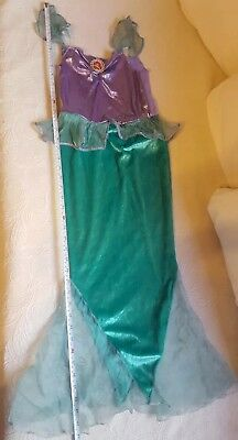 Ariel Little Mermaid Dress Costume Play Pretend Halloween outfit *NO SIZE TAG*](No Costume Halloween Outfit)