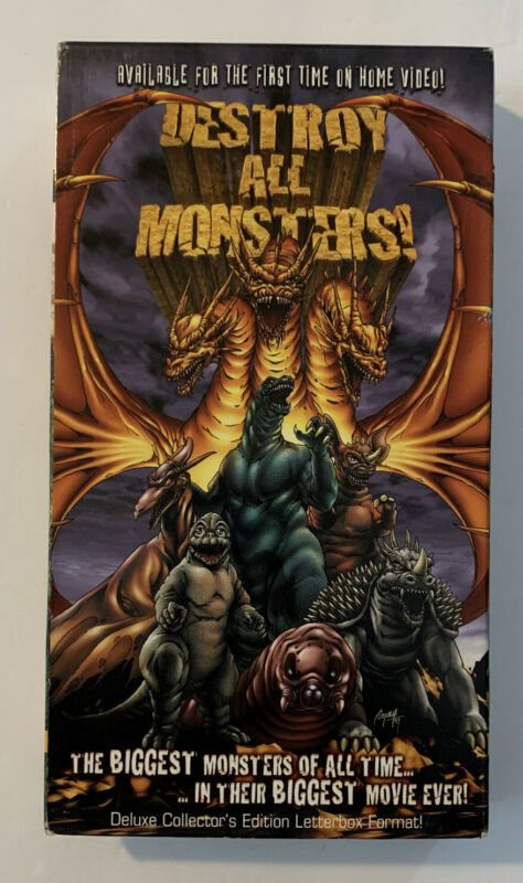 Destroy All Monsters VHS Deluxe Collector