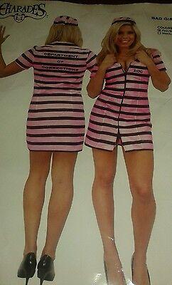 Bad Girl Gefangene Halloween Kostüm Größe Mittelgroß Verkleidung Doc Charades ()