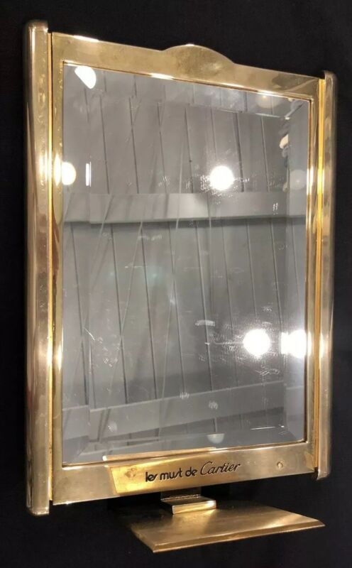 CARTIER Antique Vintage Dealer Display Mirror