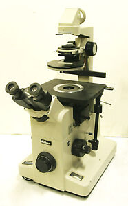 Nikon DIC Nomarski Attachment TMD Inverted Microscope Operators Manual on CD