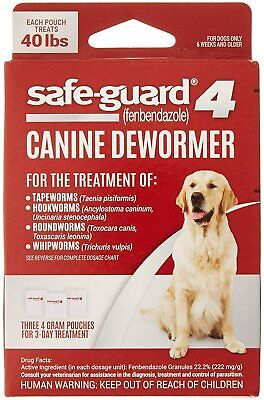 8in1 Safe-Guard Canine Dewormer for Large Dogs, 3 Day