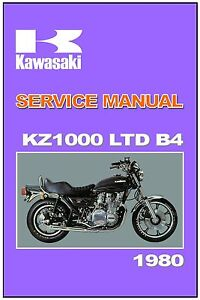 Kawasaki Kz1000 Workshop Manual