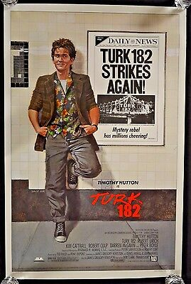 Original 27 X 41  1Sh 1985 Turk 182 Rolled Movie Poster B278