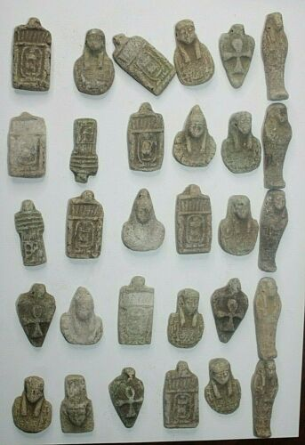COLLECTION RARE ANCIENT EGYPTIAN ANTIQUE  Amulets 2521-2358 BC
