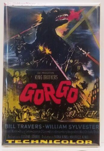 """Gorgo MAGNET 2"""" x 3"""" Refrigerator Locker Poster Movie"""