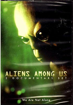 Aliens Among Us : 2 Documentary Set - UFO's , Alien Abductions , Cover Ups DVD  for sale  Acworth
