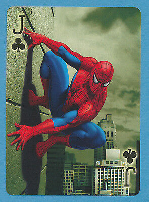 Spider-Man Spiderman playing card single swap jack of clubs - 1 card