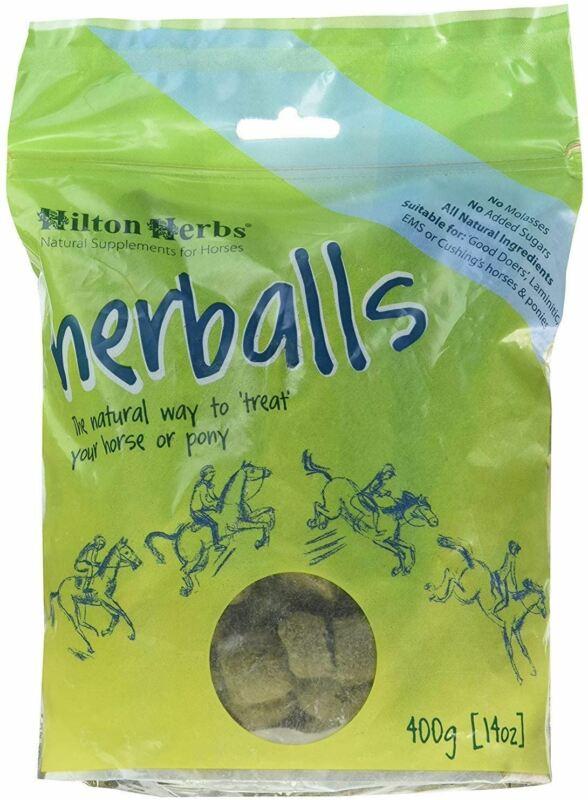 Hilton Herbs Herballs Treats for Horses - Natural Supplement - 400g