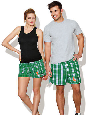 Her Boxer Shorts - University of Miami BOXERS UM Boxer Shorts FOR HIM OR HER! SLEEP SHORTS