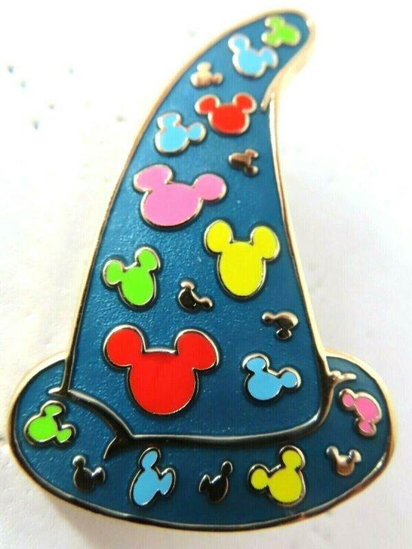 Disney Pin WDI Sorcerer Hats Mystery Colorful Mickey Icons LE 200 #77897