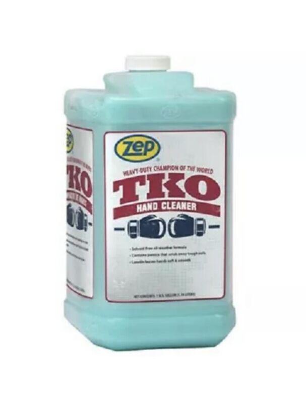Zep TKO Hand Cleaner, Gallon Bottle, 4x1gal Case