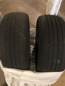 2 Hankook 205/55/16 tires