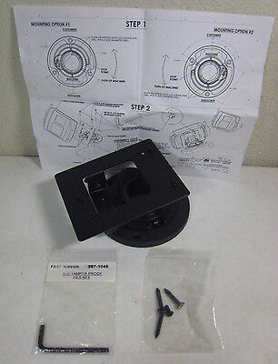 Verifone 367-0818-c Low Profile Open Hole Swivel Stand For Mx830-mx870