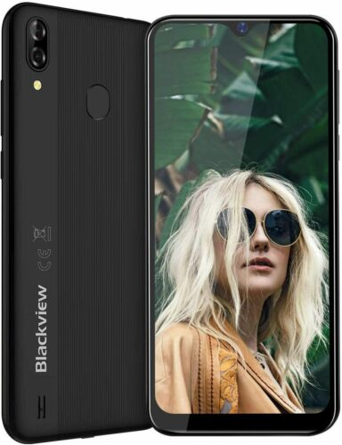 "Android Phone - 6.1"" 4G Mobile Phone Blackview A60 Pro Smartphones Unlocked Dual SIM Android 9.0"