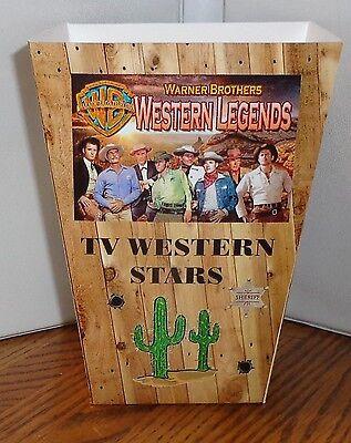 Tv Western Stars Popcorn Box 2. Paladin Cheyenne Maverick Lawman.. Free Ship