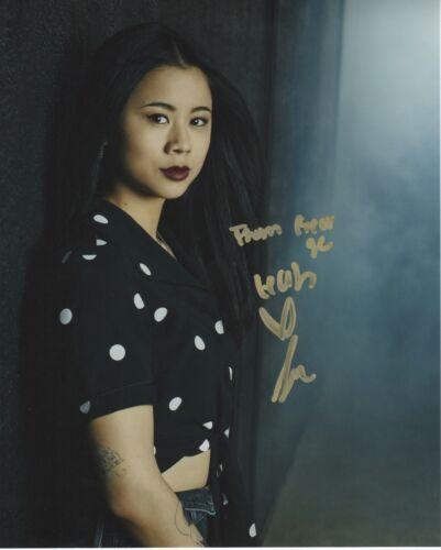 Leah Lewis Nancy Drew Autographed Signed 8x10 Photo COA 2019-4