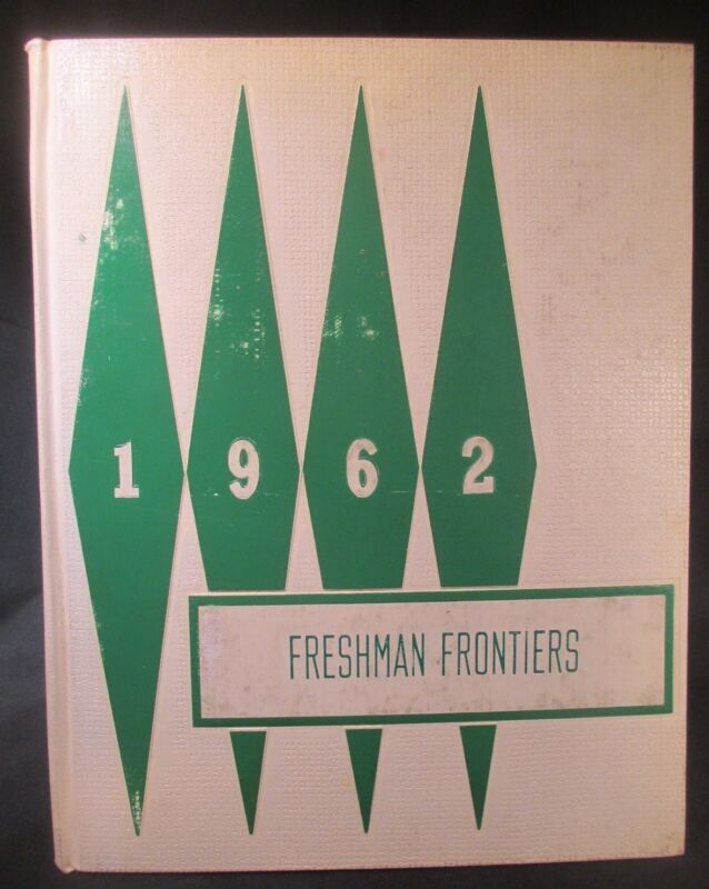 1962 Freshman Frontiers Mount Pleasant Jr High School Yearbook, Wilmington, DE