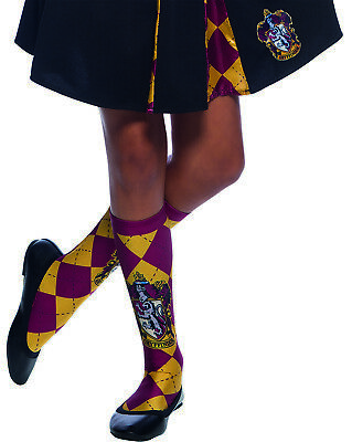 Rubies 339025 - Harry Potter Gryffindor Socks, Socken,Schuluniform Hogwarts, - Harry Potter Schuluniform Kostüm