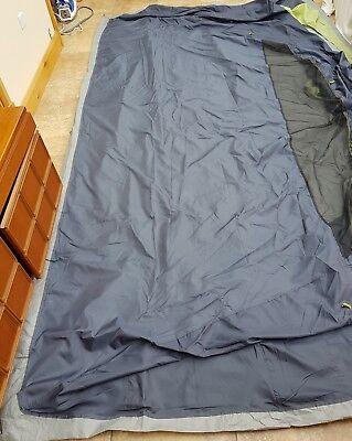 Vango Langley 600 tent inner sleeping pod herbal green camping