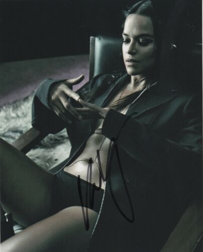 Michelle Rodriguez Fast and Furious Autographed Signed 8x10 Photo COA #E7T