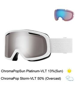 Smith Optics Goggles Adult White CP Platinum