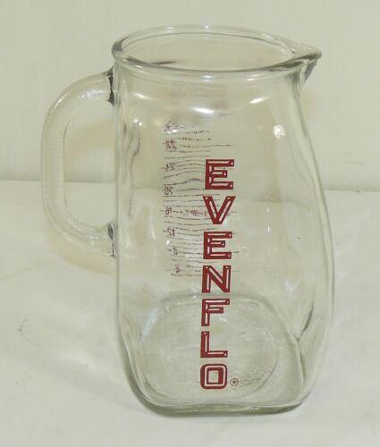 Vintage Evenflo 4 Cup 32 Oz. Glass Measuring Pitcher Baby Formula Milk