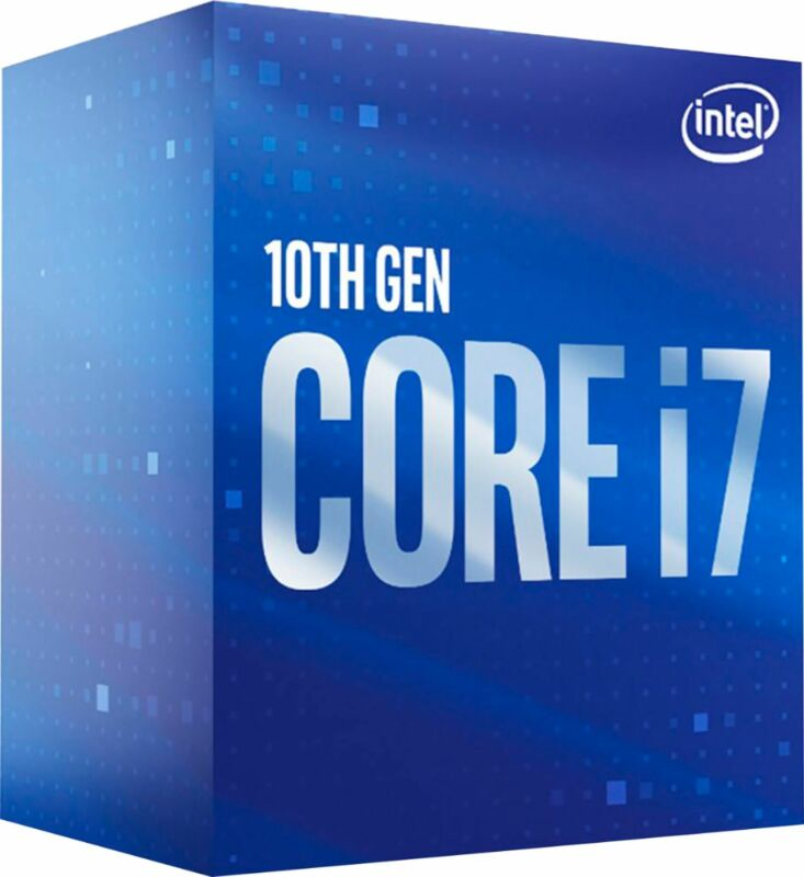 Intel - Core i7-10700 10th Generation 8-Core - 16-Thread 2.9 GHz (4.8 GHz Tur...