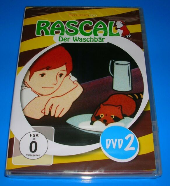 DVD Rascal Der Waschbär Staffel 2 OVP Studio 100