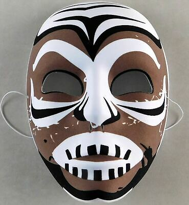 Kamala Official Pro Wrestling Mask Costume Prop Halloween Wrestler WWE WWF](Wwe Wrestler Costume)