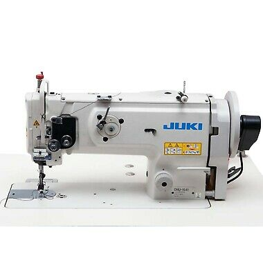 Juki Dnu1541-1 Needle Walking Foot Lockstitch Heavy Materials Complete Setup