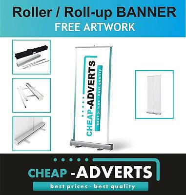 Best Quality Roller Banner / Pop Up/ Display stand. 100cm x (Best Roller Stands)