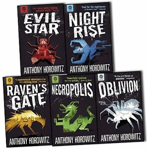 Power of Five Books Collection 5 Books Set by Anthony Horowitz-Oblivion,Necropol