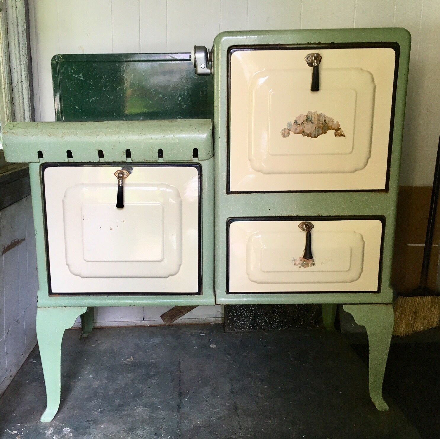 1928 Gas Stove Oven Magic Chef? Works Project Piece