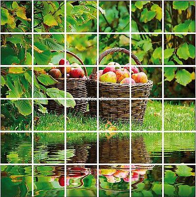 Stickers Carrelage Mural, Faience,déco Cuisine Ou Salle De Bain Fruits Réf 851