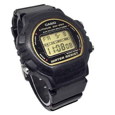 Casio Vintage 90's Digital Retro Men's Watch Sports DW-280 G-Shock Style Unisex