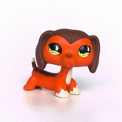 LPS Dachshund #675 Littlest Pet Shop dog toys Savannah Savvy sausage puppy