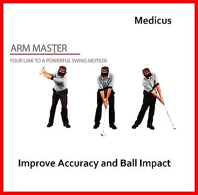 - Medicus Arm master Golf Full Swing Training Aid Keeping the Elbows Together