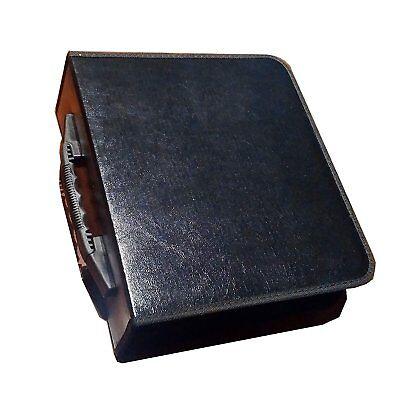 240 CD DVD STORAGE WALLET HOLDER CARRY CASE SLEEVE BLACK