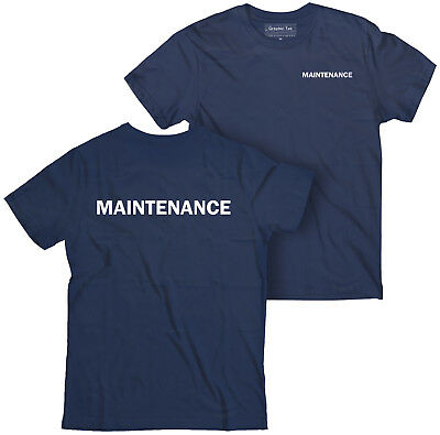 Maintenance T Shirt  Employee T Shirt  Staff T Shirt  Hospitality T Shirt  Hotel