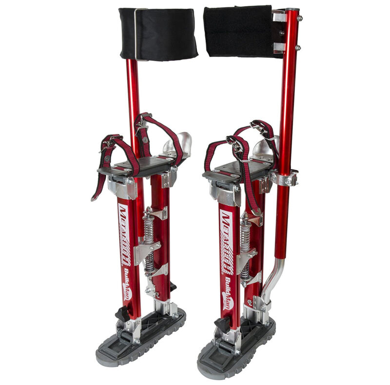 "Metaltech I-BMDS1830 BuildMan - 18""-30"" Adjustable Drywall Stilts (1 Pair)"