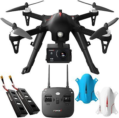 Force1 F100GP Drone with Camera for Adults - Remote Control GoPro Compatible