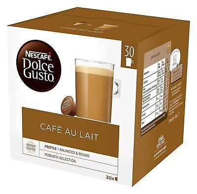 Kaffeekapseln Nescafé Dolce Gusto Café au Lait Kaffee 180 Stück MHD 31/05/2020