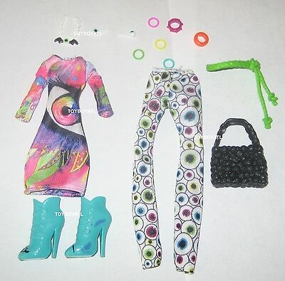 Monster High Iris Clops I Heart Fashion Doll Outfit Clothes & Shoes NEW TRU 2015