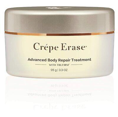 New Crepe Erase Advanced Body Repair Treatment Sweet Amber Cream 3.3 oz Sealed